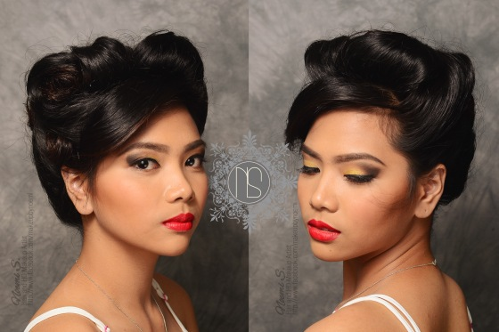 olps grad ball, prom makeup, prom hairstyle, messy updo, tousled updo, tousled hairstyle, jennifer lawrence hair, jennifer lawrence american hustle, graduation ball makeup, hairstyle for prom, prom hair and makeup, makeup artist antipolo, hair and makeup antipolo
