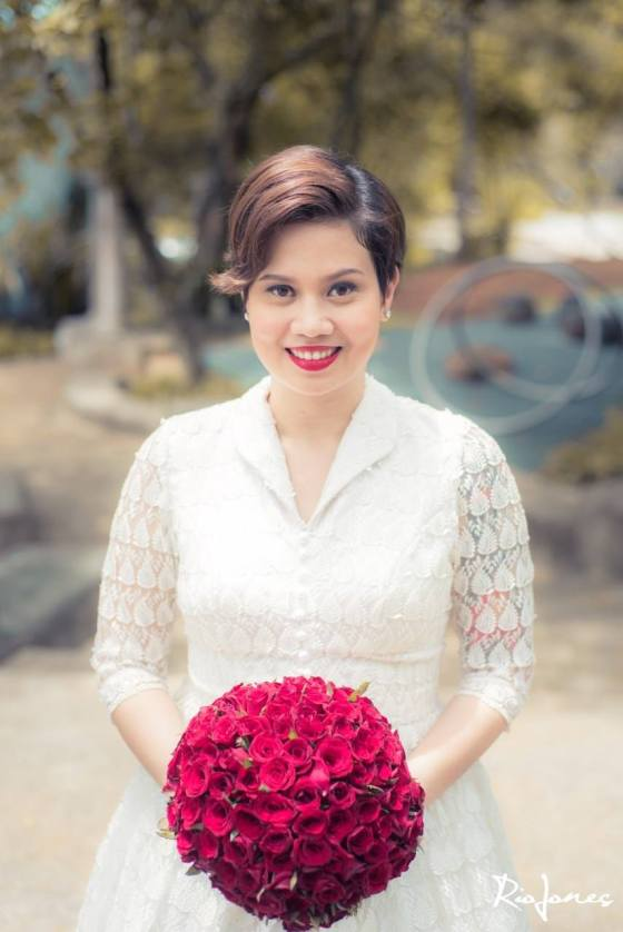 pinto art museum wedding, pinto art museum pictorial, antipolo makeup artist, hair and makeup antipolo, 1950s makeup, vintage bride, 1950s bride, 1950s wedding, occ lip tar, red lips, vintage red lips